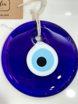 Evil Eye Glass Amulet