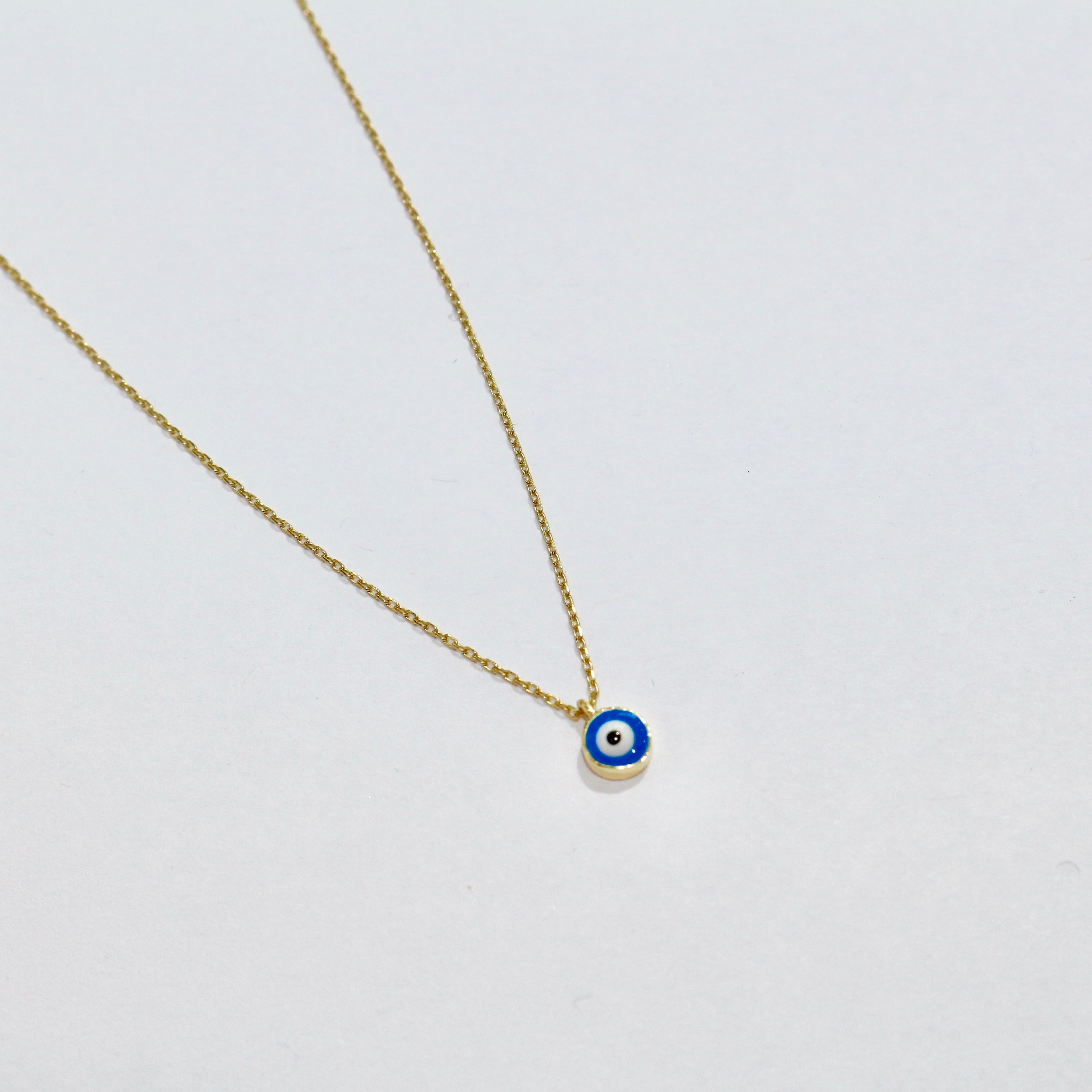 Single Evil Eye Necklace - Magnolia Jewels & More