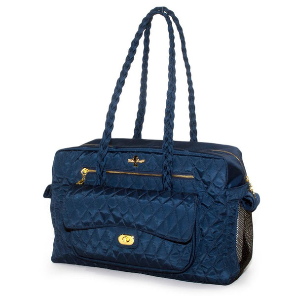 Navy Porsha Pet Carrier