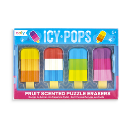 Icy Pops Scented Puzzle Eraser