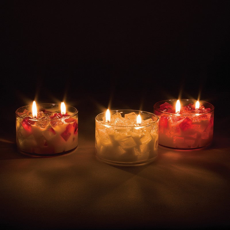 2-Wick Color Bowl Candle