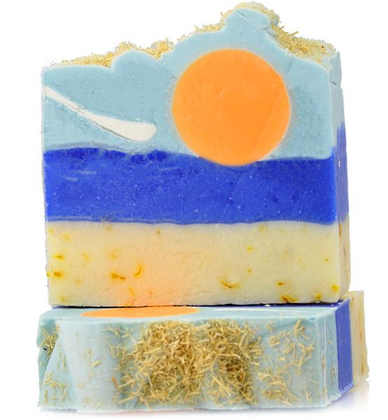 Tropical Sunshine - Handcrafted Vegan Soap - Magnolia Jewels & More