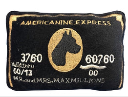 Americanine Express Bark Credit Card Dog Toy