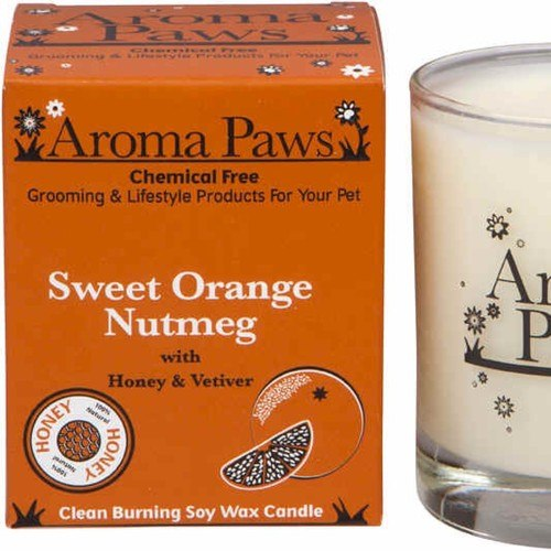 Candle in Glass W/Gift Box Sweet Orange Nutmeg