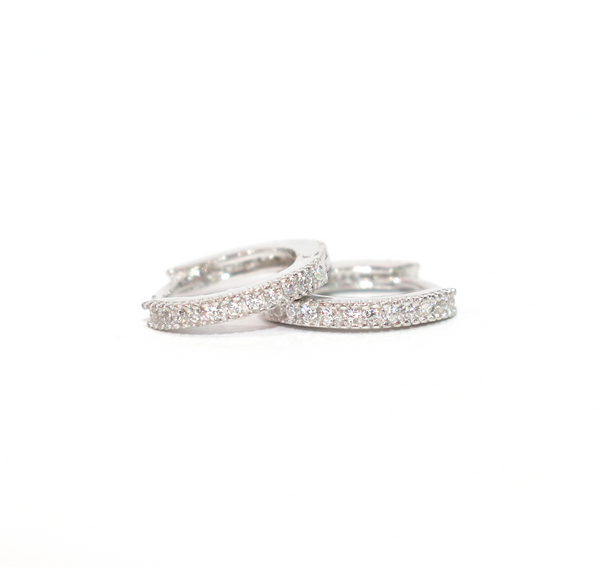 Baby Huggie Hoop Earrings - Magnolia Jewels & More