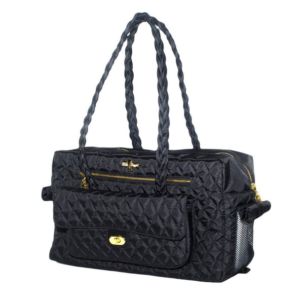 Black Porsha Pet Carrier