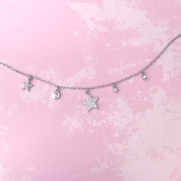 Constellation Stars Full Stone Bracelet - Magnolia Jewels & More