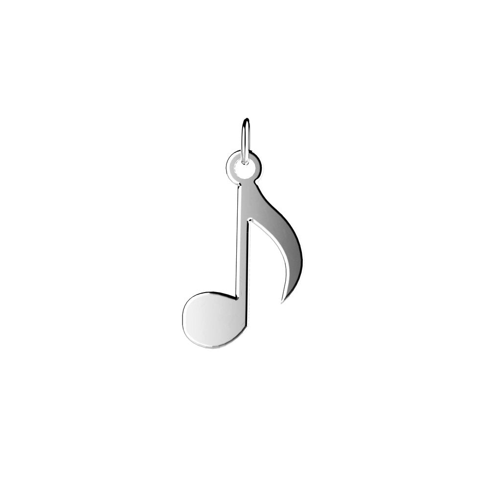 EACH Jewelry - Musical Note Charm | .925 Sterling Silver