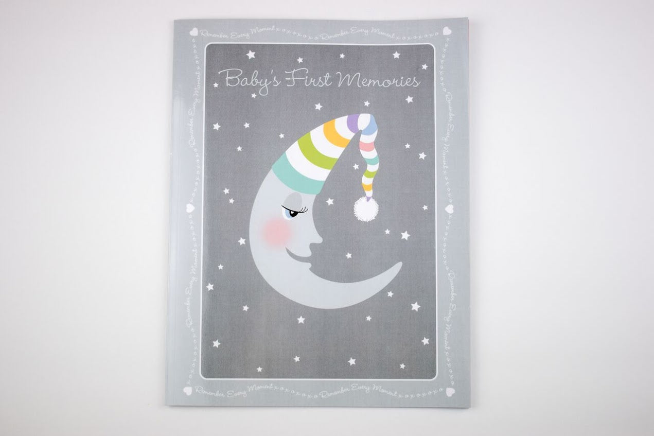 Aimee J Keepsakes - Moon Baby's First Book