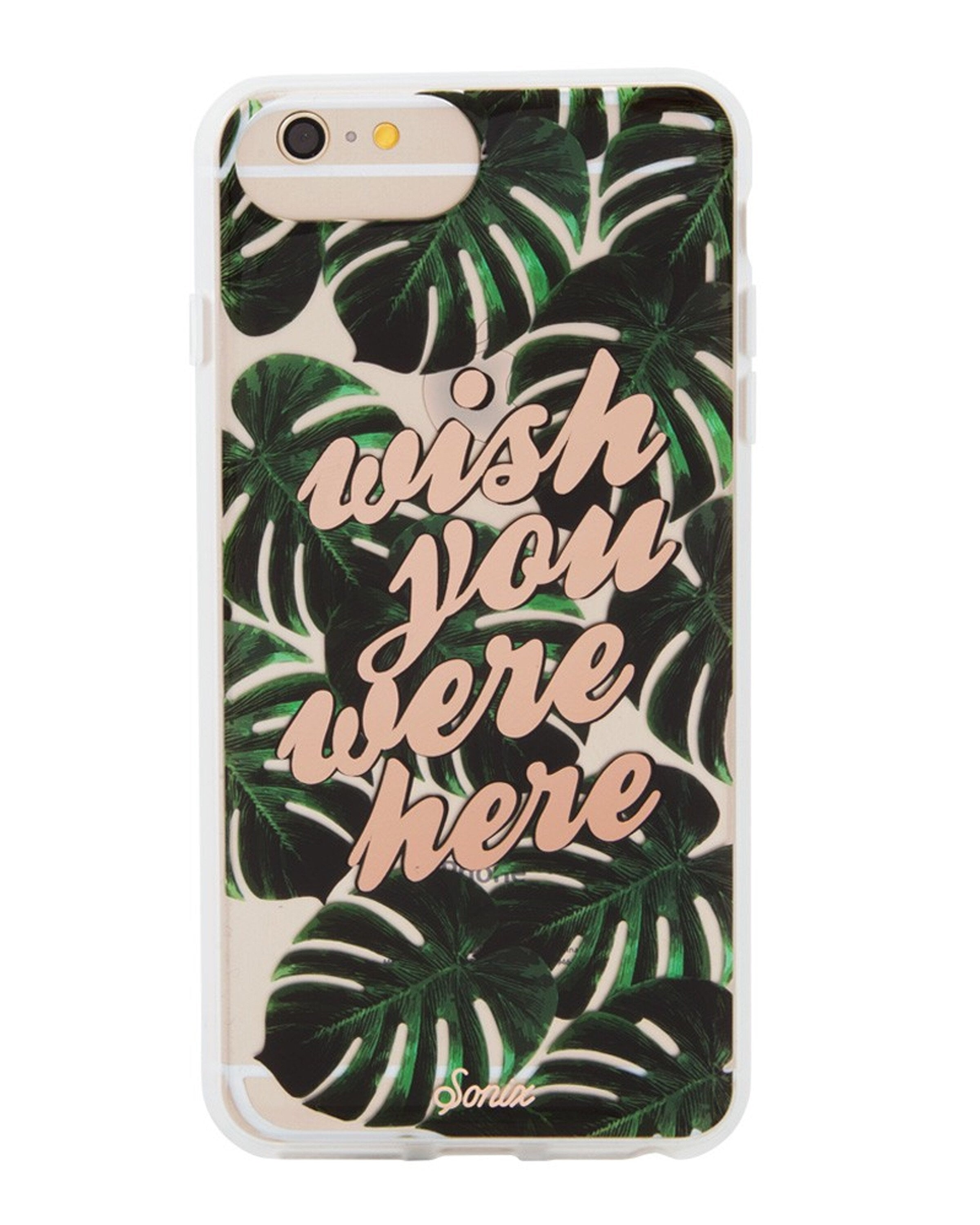 Wish You Were Here Iphone Case 6s, 7, 8 by Sonix - Magnolia Jewels & More