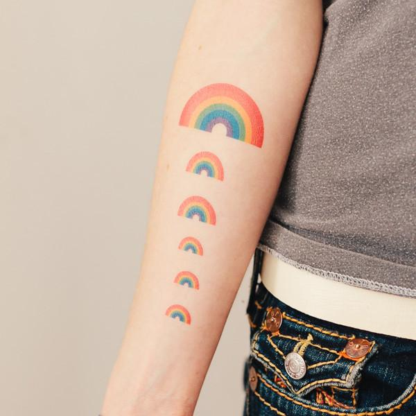 Rainbow by Jessi Arrington from Tattly - Magnolia Jewels & More