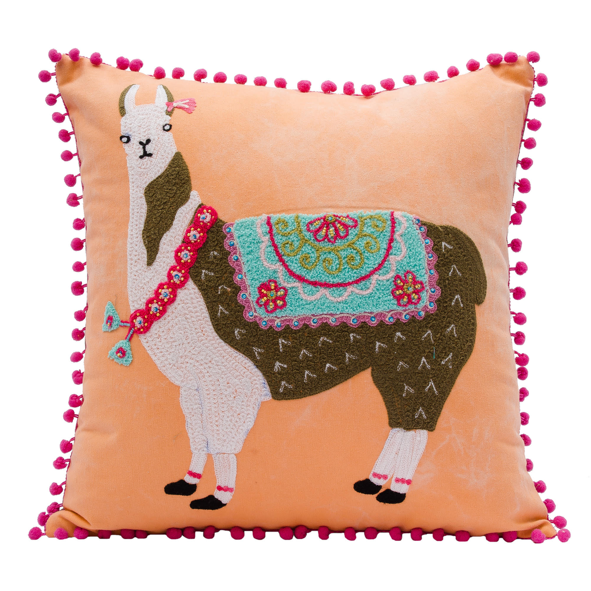 Llama  Pillow - Magnolia Jewels & More