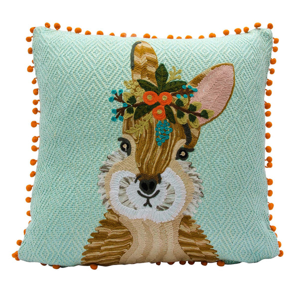 Garden Bunny Pillow - Magnolia Jewels & More
