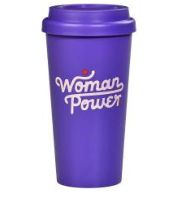 Woman Power Travel Mug - Magnolia Jewels & More