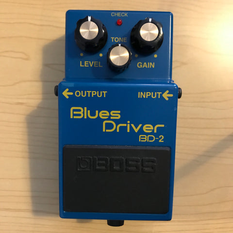 BOSS BD-2 Blues Driver (Pre-owned unboxed) | Barnsley shop
