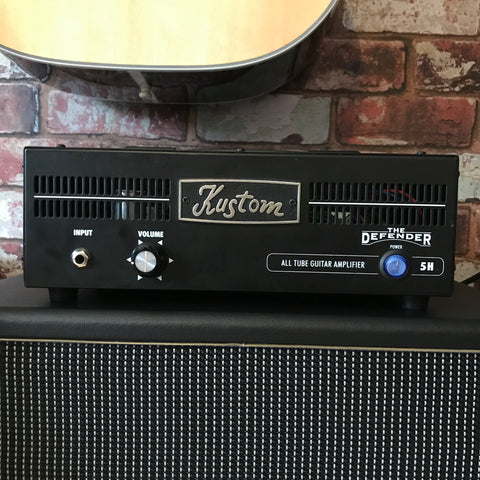 Kustom - The Defender 5H - 5 Watt Tube Amp Head (Pre-owned)