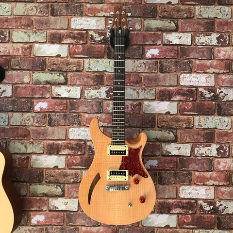 PRS - SE Custom Semi Hollow (Natural) w/ Gig Bag (Pre-owned)