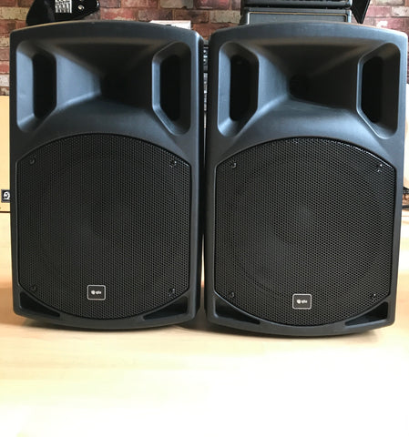 QTX - QX12A Active PA Speakers (Pre-owned)
