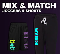 Joggers and Gym Shorts