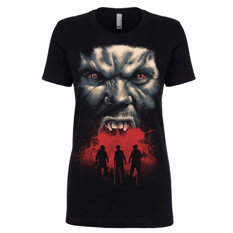 Destroy All Vampires Ladies Shirt