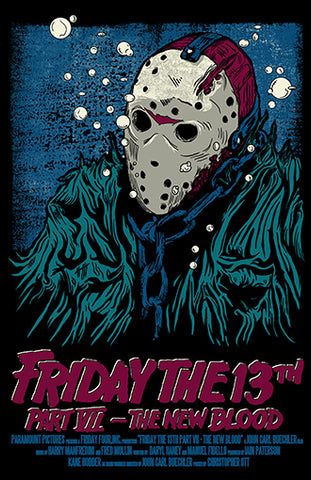 Friday the 13th The New Blood 11x17