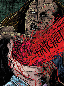 Hatchet Vinyl Sticker