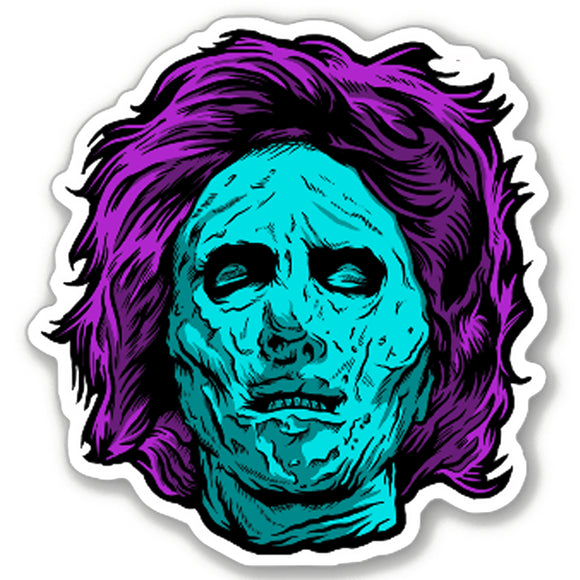 8 Bit Mrs. Voorhees Vinyl Decal