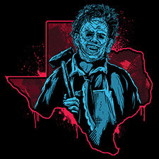 Texas Chainsaw Massacre Vinyl Sticker