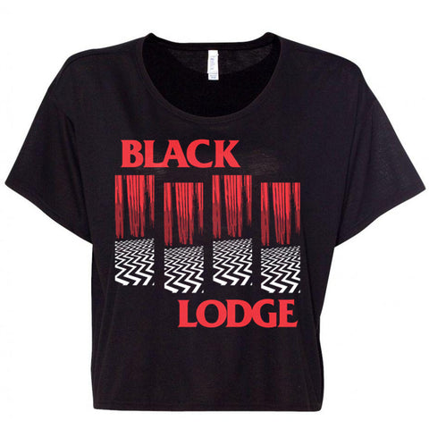 BLACK LODGE Crop Top
