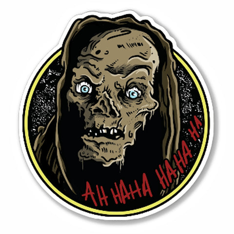 Cryptkeeper Vinyl Decal