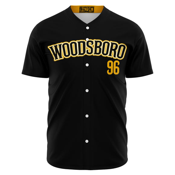 Woodsboro High School Away Baseball Jersey