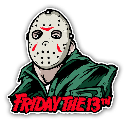 Friday the 13th Vinyl Decal