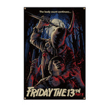 Friday The 13th Part 2 Wall Tapestry