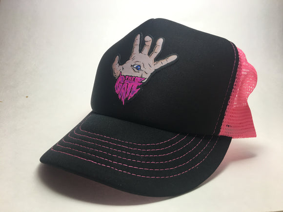 The Gate Pink Trucker Cap