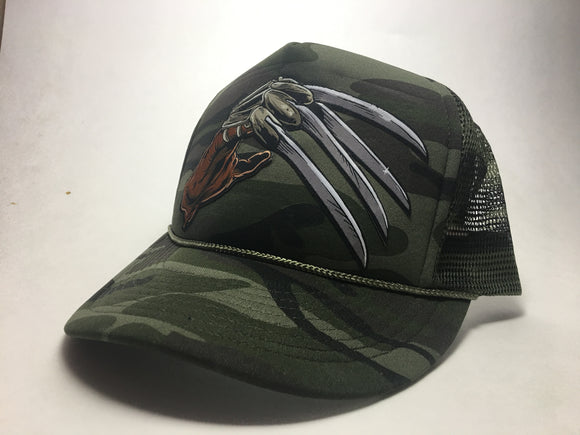 Nightmare Camo Trucker Cap