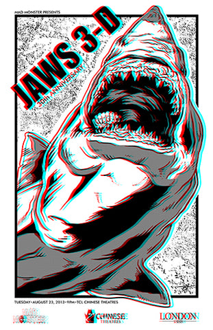 Jaws 3D 11x17