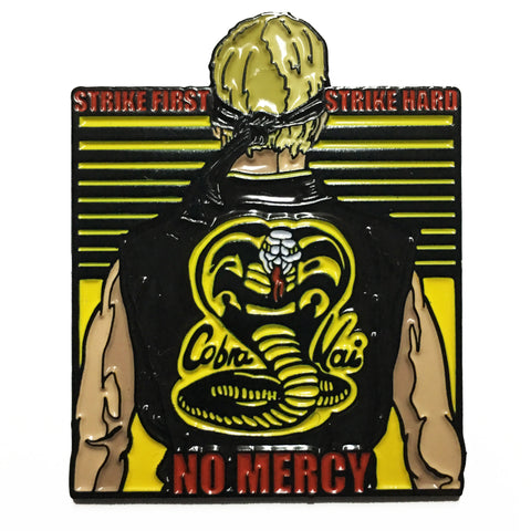 No Mercy Enamel Pin