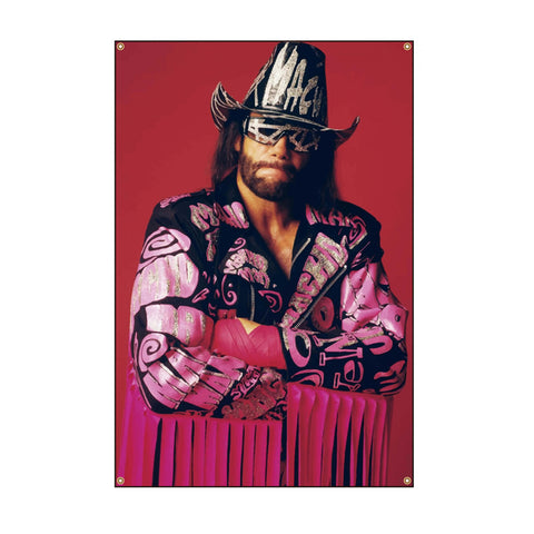 Savage in Pink Wall Tapestry