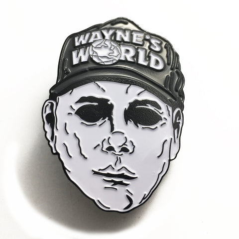 Mike Myers Enamel Pin