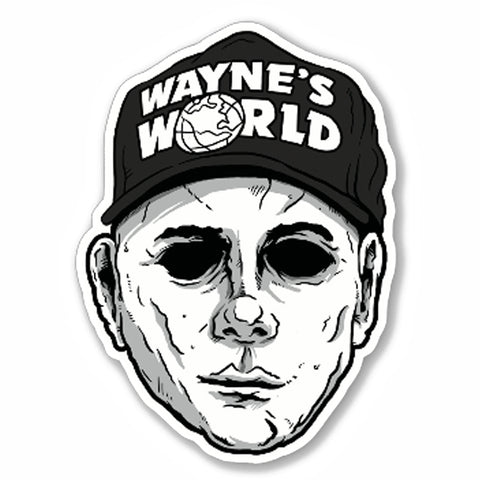 Mike Myers Vinyl Decal