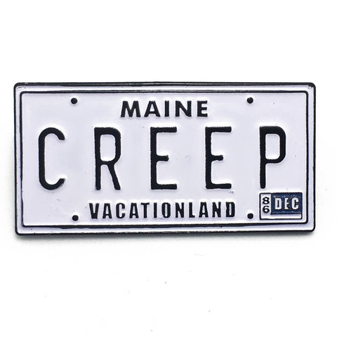 Creep Enamel Pin