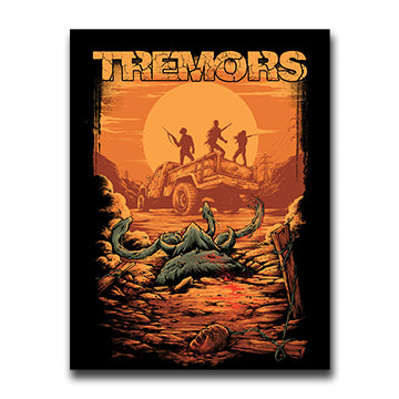 Tremors Vinyl Sticker