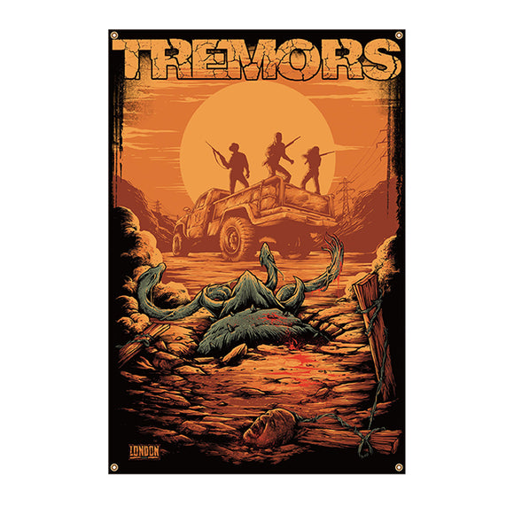 Tremors Wall Tapestry