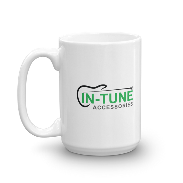 In-Tune Accessories - Ceramic Mug - 15oz - Left Handed