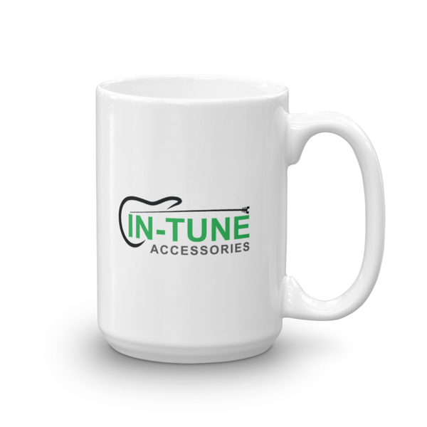 In-Tune Accessories - Ceramic Mug - 15oz - Right Handed