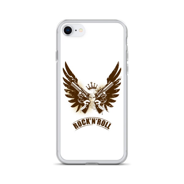 Rock N Roll - iPhone Case - iPhone 7/8- White