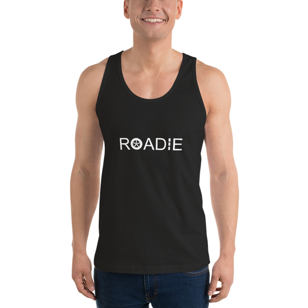 Roadie - Unisex Tank Top - Made in USA - Black