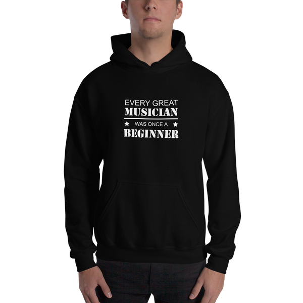 Every Great Musician - Unisex Hoodie - Black