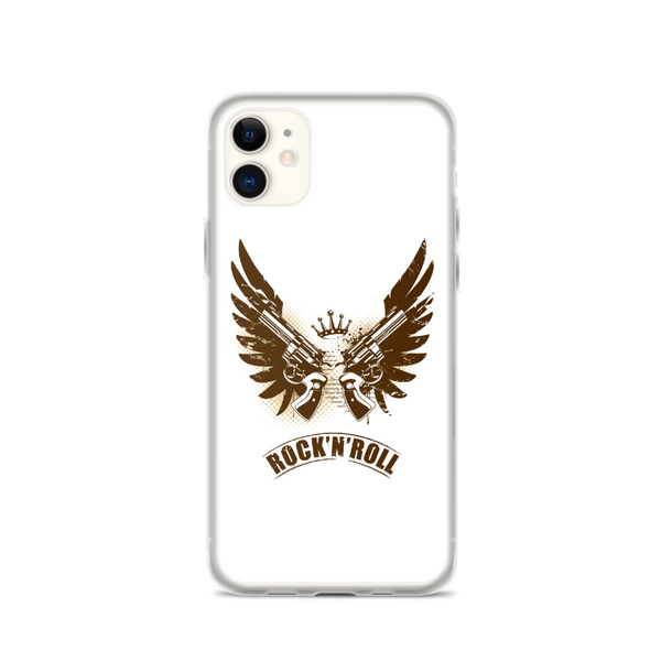 Rock N Roll - iPhone Case - iPhone 11 - White