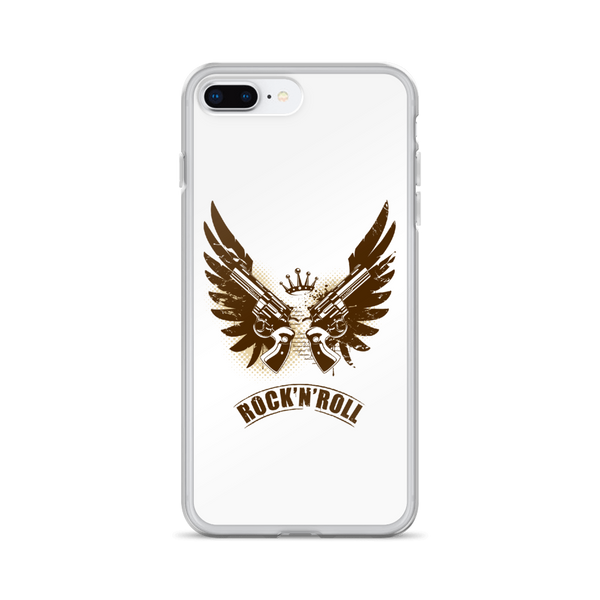 Rock N Roll - iPhone Case - iPhone 7 Plus/8 Plus - White